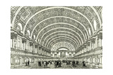 People's Palace London UK 1887 the Queen's Hall Opened by Her Majesty