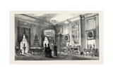 Her Majesty's Sitting-Room in the Palace  Charlottenburg Germany  1888