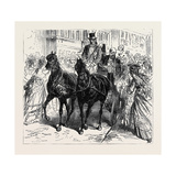 Kissingen: Popular Greeting after the Attempt on Prince Bismarck's Life  July  1875