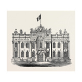 The King's Palace  at Antwerp  Formerly the Hotel De La Place De Meir  1852