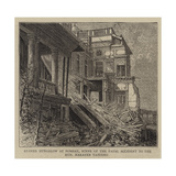 Ruined Bungalow at Bombay  Scene of the Fatal Accident to the Honourable Narayen Vasudeo