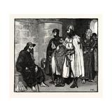 Pilgrim (A) Palmer (D) Hospitaller (B) Templar Knight (C) and Conventual Templar (E) (A Pilgrim's