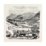 The Revolution in Sicily: First Bivouac at Sunrise  Near Villafrati  Italy  1860
