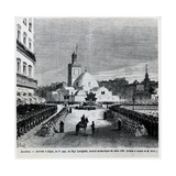 The Arrival in Algiers of Charles Lavigerie  the New Archbishop of the Town  15 May 1867