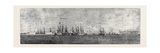 The Russian Navy at Cronstadt  Sketched from the Paddle Box of HMS Merlin