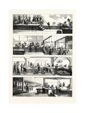 American Industry and Commerce  Hog-Slaughtering at Cincinnati  USA  1873