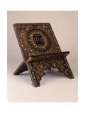 A Rare and Important Momoyama Period Christian Folding Lectern (Shokendai) (Wood)