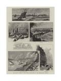 The Railway Strike in the United States  Views on the Pennsylvania Railway