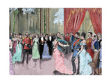 Prince Ludwig Ferdinand of Bavaria (1859-1949) and Infanta Maria Da Paz of Spain (1862-1946) Dance