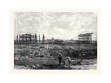 Progress of the Paris Exhibition Building in the Champ De Mars France 1866