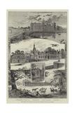 The Chateau De Chantilly  Near Paris  the Residence of the Duc D'Aumale