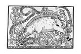 Anti-Semitic Pamphlet Titled Das Judenschwein (The Jewish Pig)  Frankfurt  1451