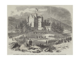 The Gathering of the Highland Clans at Braemar Castle in the Presence of the Prince and Princess of