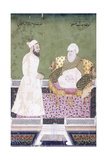 Ghaus Al-'Azam  Abdul Qadir Ghilani of Baghdad  C 1800 (Gouache with Gold Paint on Paper)
