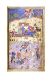 Yusuf Being Rescued from the Pit  C1492-3 (Illuminated Manuscript on Paper)