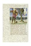 Aeneas Stands Beside the Spoils of King Mezentius  1874-C1919 (W/C on Vellum)