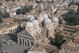 High Angle View of a Church in a City  Basilica of St Anthony  Padua  Veneto  Italy