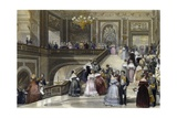 Grand Celebration at Palace of Versailles  1840-1850  by Eugene Louis Lami (1800-1890)