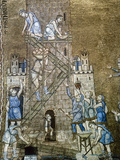 Italiy Venice Saint Mark's Basilica Construction of the Tower of Babel 13th Century