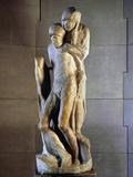 Pieta Rondanini  1564  by Michelangelo Buonarroti (1475-1564)  Marble Statue  Height 195Cm