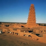 Great Mosque (Unesco World Heritage List  2013)  Agadez  Niger  16th-19th Century