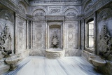 Hamam (Turkish Baths) in Throne Room  Dolmabahce Palace  1843-1856  Istanbul  Turkey