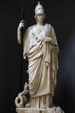 The Athena Giustiniani Roman Copy of a Greek Statue of Pallas Athena 2nd Century