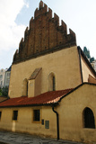 Czech Republic Prague Old New Synagogue Gothic  13th Century Josefov (Jewish Quater)