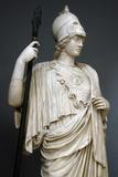 The Athena Giustiniani Roman Copy of a Greek Statue of Pallas Athena 2nd Century Detail