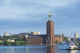 The Stadhuset (Town Hall)  20th Century  Seen from Lake Malaren  Stockholm  Sweden