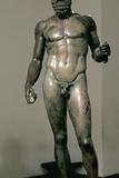 Greek Art Riace Bronzes 460-420 BC Museo Nacionale Della Magna Grecia Italy