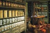 Reconstruction of Ancient Castle Pharmacy  Castle Museum  Linz  Austria