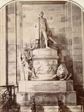 Monument to Vice-Admiral Horatio Nelson  St Paul's Cathedral  London  C1885