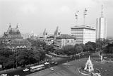 Flora Fountain  Now known as Hutatma Chowk  Mumbai  Maharashtra  India  1982