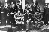 Group Portrait of the Key Members of the Yalta Conference  Yalta  Ukraine  4th February 1945