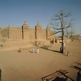 The Great Mosque (1907)  Djenne (Unesco World Heritage List  1988)  Mopti  Mali