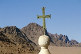 Cross on Top of Saint Catherine's Monastery  Sinai  Egypt  6th Century