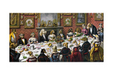Formal Dinner Party for Dogs  1893
