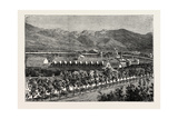 Residence of Brigham Young  Salt Lake City  USA  1870s