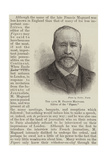 The Late M Francis Magnard  Editor of the Figaro