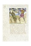 Aeneas Slays Turnus  1874-C1919