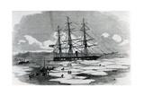 Ship Exploring the Arctic