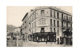 Pharmacy  Tobacconist and a Kodak Shop  Beaulieu Sur Mer  1910