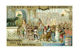 Triumphal March Along the Via Sacra  Rome