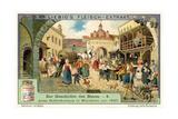 Old Hofbrauhaus in Munich  1830