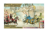Chariot Race in the Circus  Rome