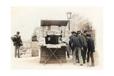 Newspaper Seller  1914