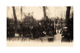 Swings on the Champs Élysées  Paris  1905
