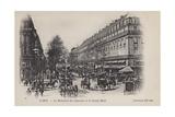Paris  Le Boulevard Des Capucines  Le Grand Hotel