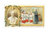 Pope Pius X Teaching Plainsong When Bishop of Mantua  19th Century